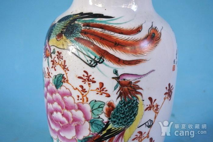 老厂货, 双凤牡丹 花瓶图11