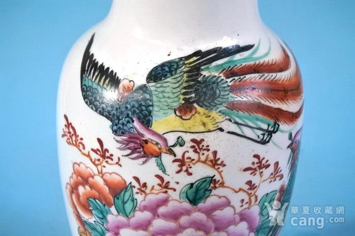 老厂货, 双凤牡丹 花瓶图10