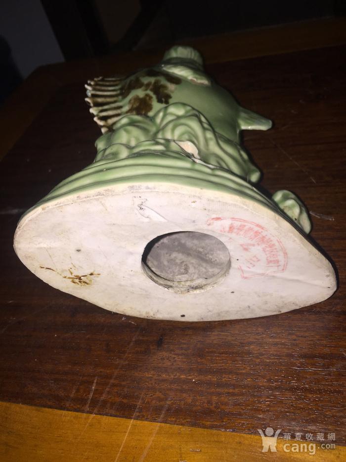 瓷的石斑鱼台灯架图6