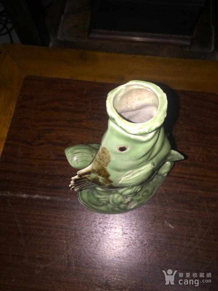 瓷的石斑鱼台灯架图8