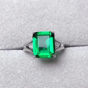 炫彩沙弗莱石戒指