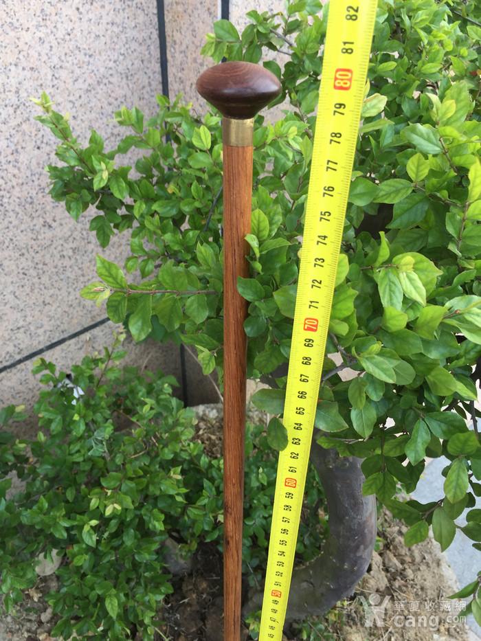 黄花梨文明杖图2