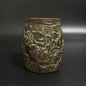 鱼子纹 茶叶罐