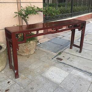 完整的长条桌