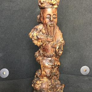 樱木根雕摆件
