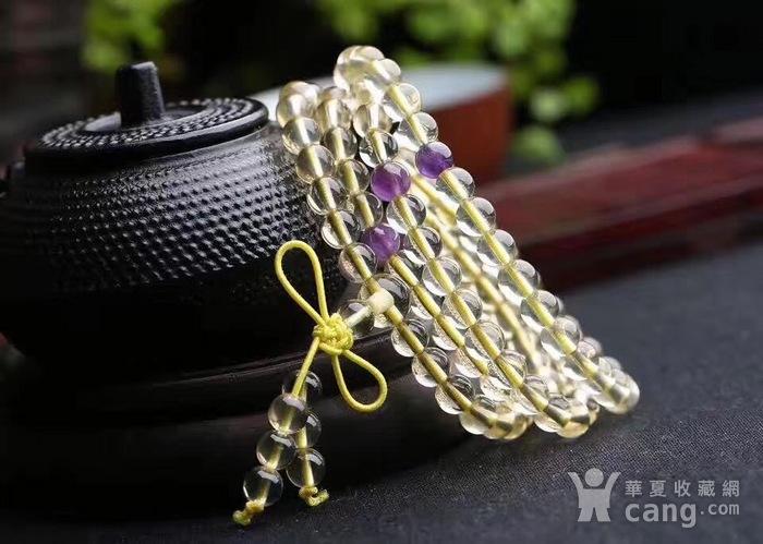 黄水晶佛珠手链图3