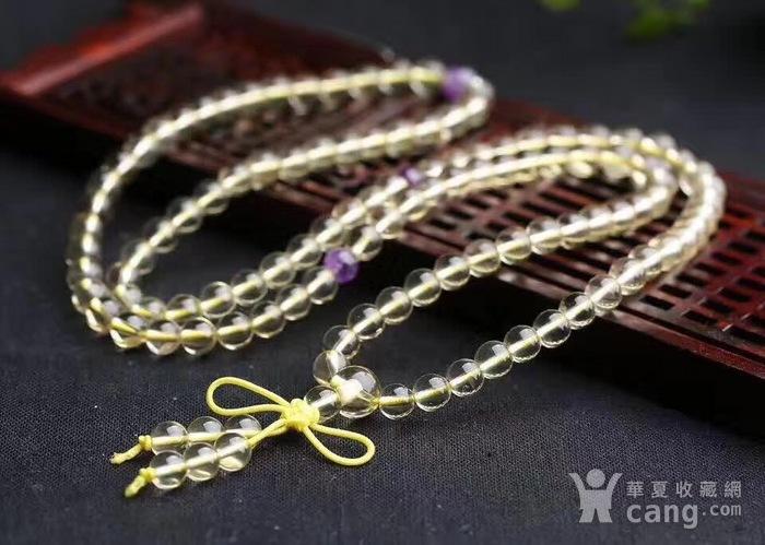 黄水晶佛珠手链图4