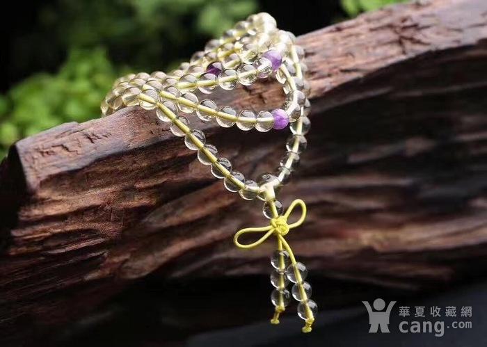 黄水晶佛珠手链图5