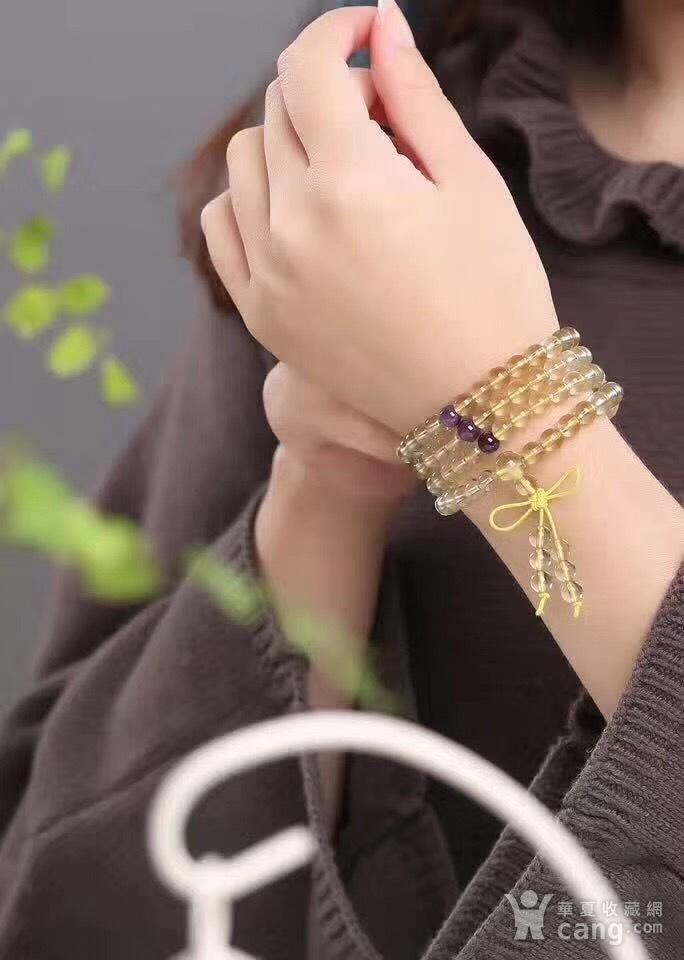黄水晶佛珠手链图6