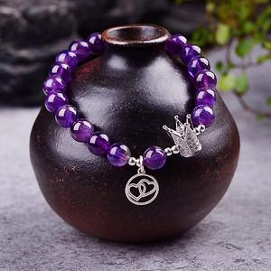 薰衣草紫水晶手链