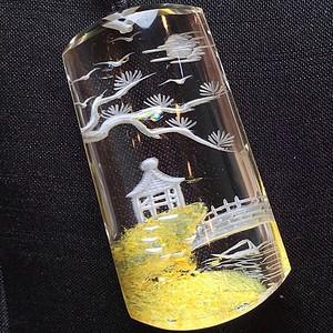 水晶幽灵内雕