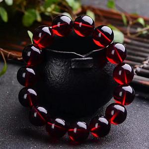 缅甸血珀,圆珠手串