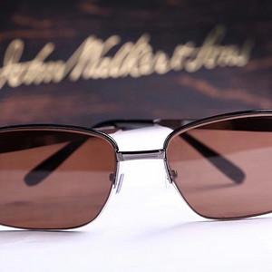 男款商务款拉丝男款水晶眼镜钛合金半框