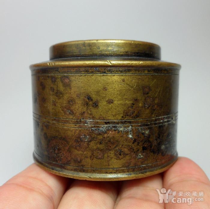 民国老铜墨盒!特色收藏 C  !图5
