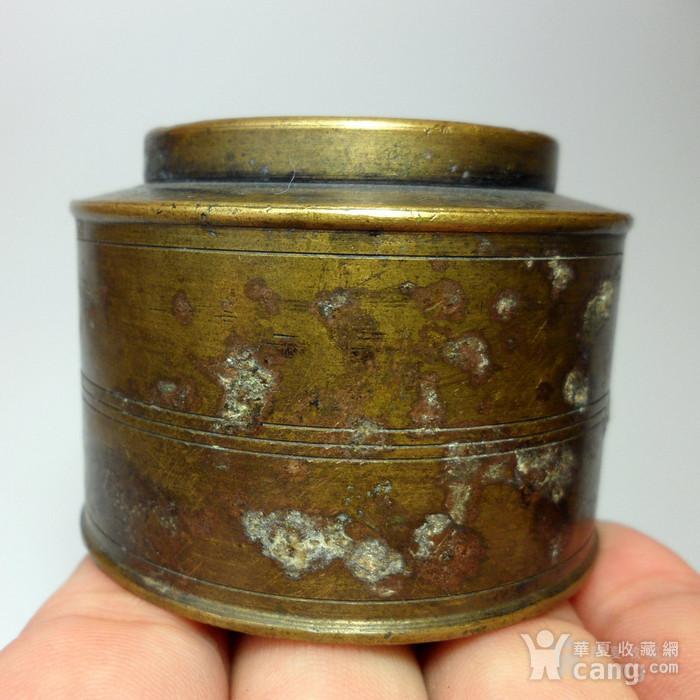 民国老铜墨盒!特色收藏 C  !图9