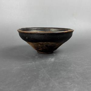 金牌 宋建窑系黑釉茶盏