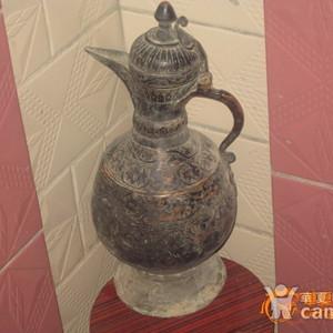 精美老铜壶