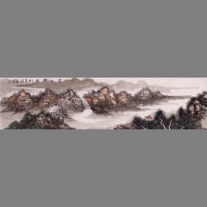 联盟 徐华款山水画 *仙境