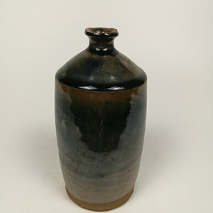 联盟 金元吉州窑黑釉梅瓶