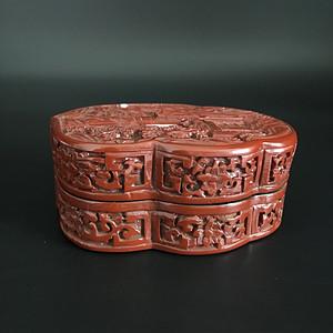 漆器印尼盒