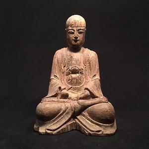 木雕《阿弥陀佛》