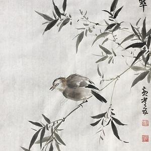 国宝级艺术家黄常五《清幽鸣翠》