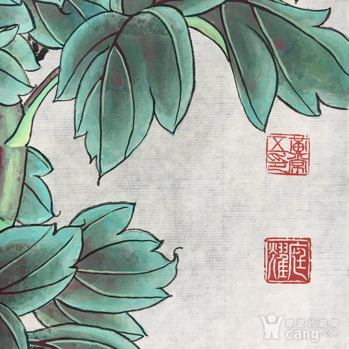 国宝级艺术家黄常五工笔《国色天香》图3