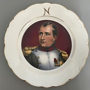 欧洲名瓷 :拿破仑头像盘1