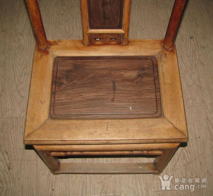 红木面单背椅子图2