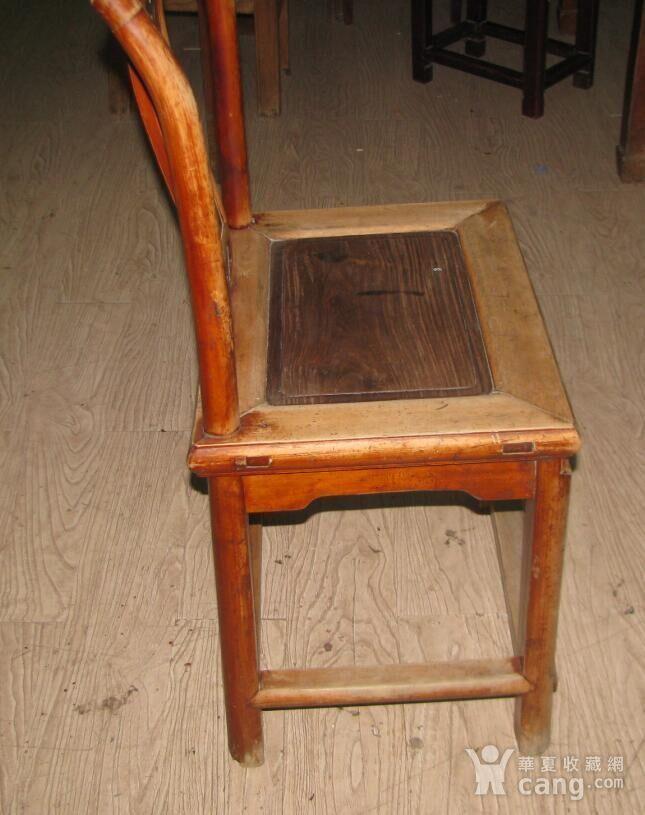 红木面单背椅子图4