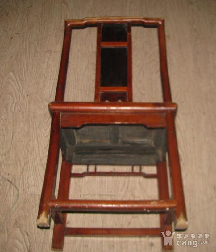 红木面单背椅子图5