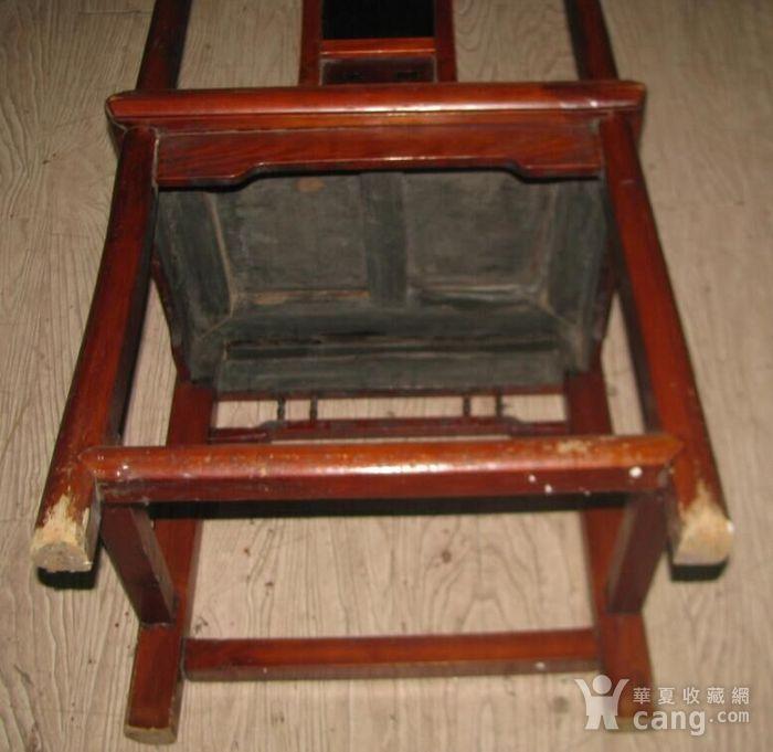 红木面单背椅子图6