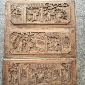 雕刻精细楠木老花板