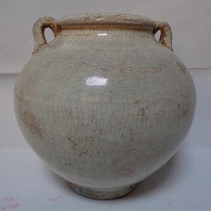 白釉2系罐
