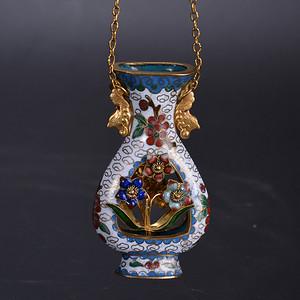 景泰蓝 宝瓶 挂件