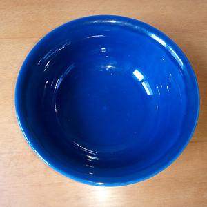 霁蓝釉蹬式碗