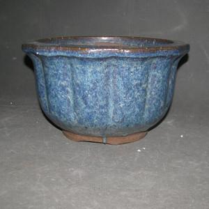 宜均釉砂胎花盆