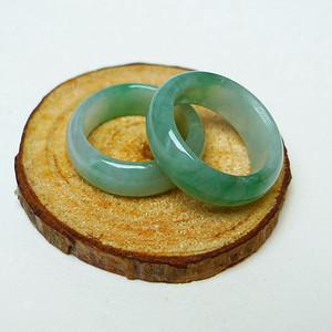 冰种绿戒指套组