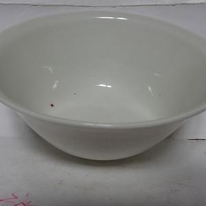 白釉薄胎碗