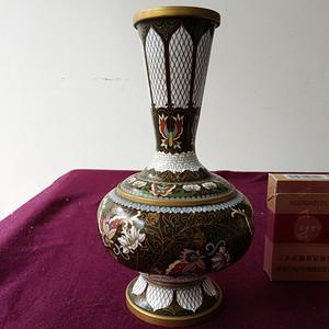 创汇期 景泰蓝花瓶