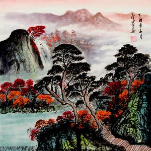 联盟 李墨款国画:山水画