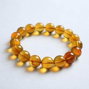 金棕缅甸琥珀手珠 5JJ01