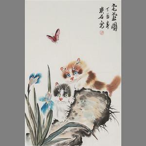 联盟 璞石款动物画 猫:耄耋图