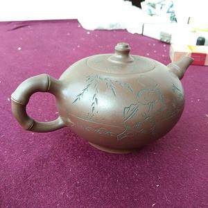 周桂珍早期紫砂壶