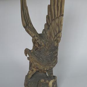 精工木雕鹰