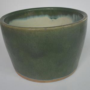 石湾窑绿釉缸