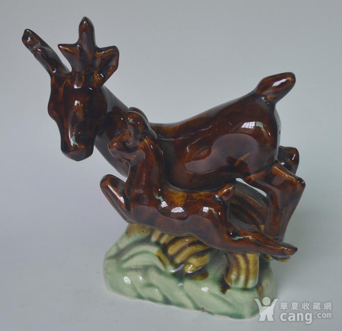 三件动物瓷塑图3