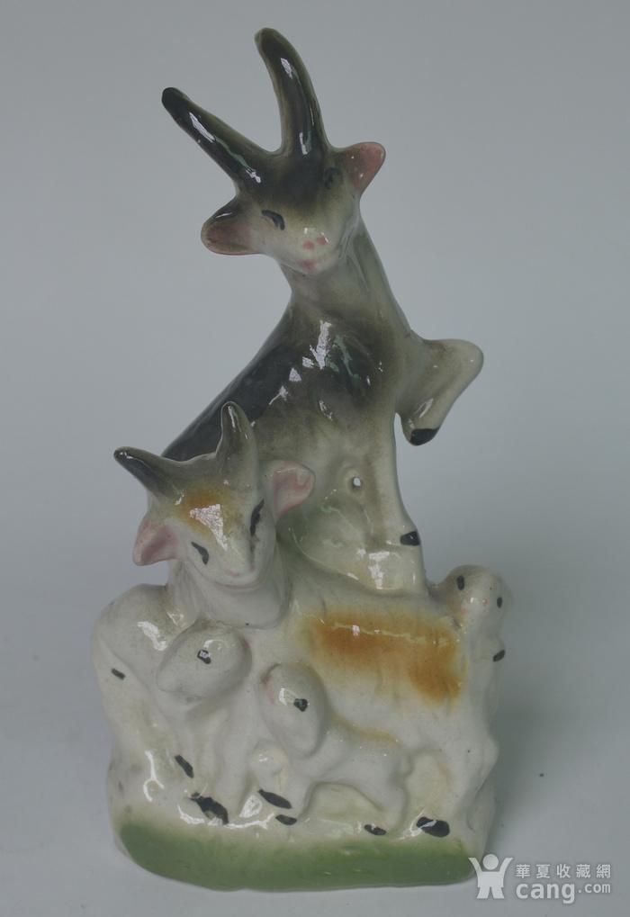 三件动物瓷塑图6