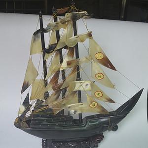 创汇时角雕帆船