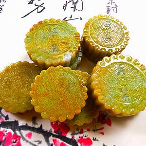 九个月饼天然A货好种金黄..月是故乡明,情是亲人浓,中秋节月饼传达永远